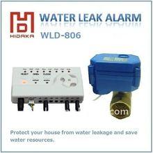 Auto stop water leak alarm for European countries