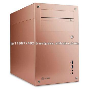 acubic T20R Peach / Aluminum PC Case Price negotiable!!