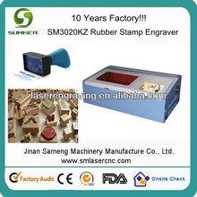 rubber stamp making machine portable laser cutting