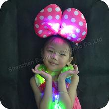 Factory Wholesale Bowknot Led Light Headband