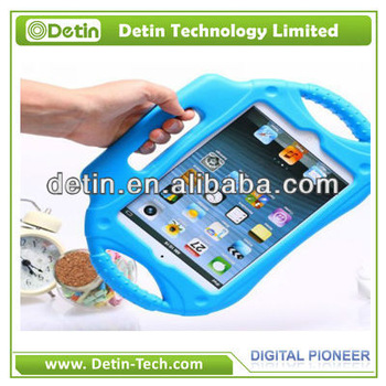 Cheaper shockproof EVA tablet Case for iPad mini with hand hold in alibaba