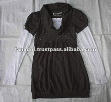 Children's clothing fashioon long sleeve for girls new order 2012
