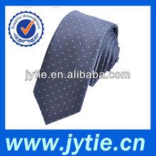 Grey Dot Silk Necktie