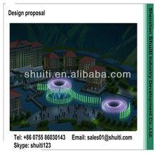 2013 New Design Brand Waterscape Music Fountain