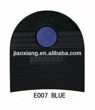 E007 BLUE LOGO Rubber Shoes Repair Material of MAGNA HEEL
