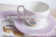 Fine Bone Porcelain Tea Cup & Saucer