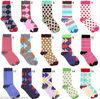 custom logo cotton pop socks manufacturers in china