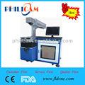 Boa qualidade 50 W yag máquina de marcação a laser & marcadores para pintar na metal