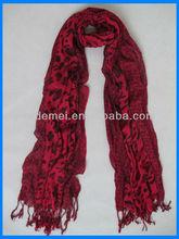 Factory's printed viscose scarf rayon shawl