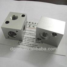 cnc milling machine parts, cnc milling parts, raw aluminum block