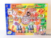 Plastic food toys set (56PCS) fruit and vegetable Allow children to enjoy role play Hot selling