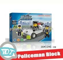 Policeman building block (67pcs) brick toys