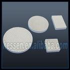 Infrared ceramic plate for gas burner