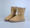las señoras de moda las botas de nieve zapatos de invierno