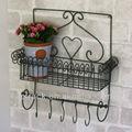металлический сад цветочный полка железа для цветов
