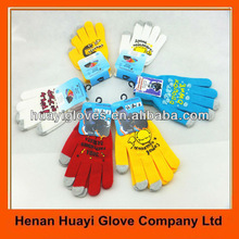 3 Fingers Smart Touch Sensitive Gloves