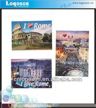 souvenir Roma fridge tinplate magnet
