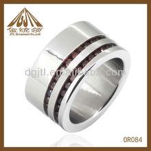 Factory price Fashion high polish Jewelry plain ring