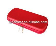 Rouge couleur coquille dure eva boîte de crayon