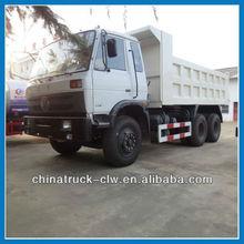 Dongfeng 6x4 model 210hp cheap 6x4 white dump truck