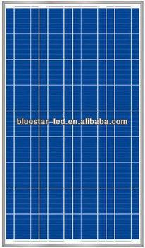Class A high quality pv polycrystalline 100W solar panel