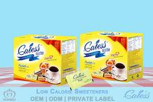 Maltitol sweetener low calorie tabletop sweetener packet