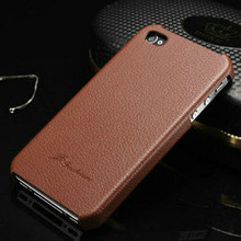 hot selling crystal leather skin case for iphone4s