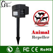 Pest control GH-326 PIR ultrasonic wild animal repeller