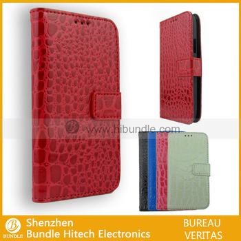 Paypal accepted ,Crocodile leather covers for S4 mini. for s4 mini case