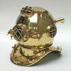 US Navy Mark V diver helmet