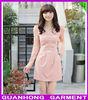 High fashion good quality women chiffon dress factory