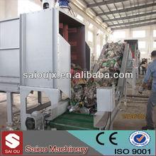 China manufacturer waste plastic used pet washing machinery