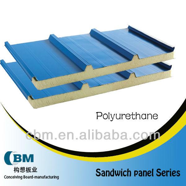 polyurethane sandwich roof panel PP2005