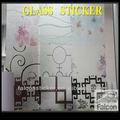 متجمد الزجاج زجاج الباب نافذة ملصقا
