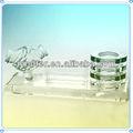 agitando as mãos negócio de cristal escritório decoração para cooperar presentes