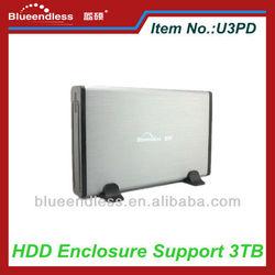 External Hard Disk Case 3.5 USB3.0 Hard Drive Enclosure