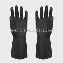 latex industrial heavy duty rubber gloves