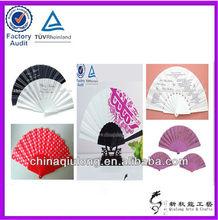 Logo Custom Plastic Hand Fan Sticks