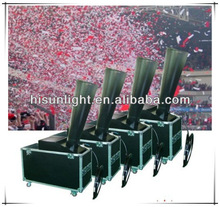 CO2 Cyclone Paper Confetti Machine, 1000W Carbon Dioxide Stage Cyclone Confetti Blower for stage/ celebration