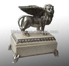 New design silver animal decoration,copper base plated decor piece,ornament (BF01-10093)