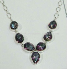 Sterling silver Necklace,wholesale Necklace,cluster necklace