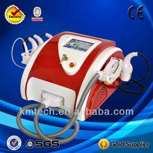 2014 Portable multifunction galvanic ultrasonic beauty machine for salon use hot sale