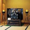 japonés kabuto casco guerrero samurai figuras de la armadura