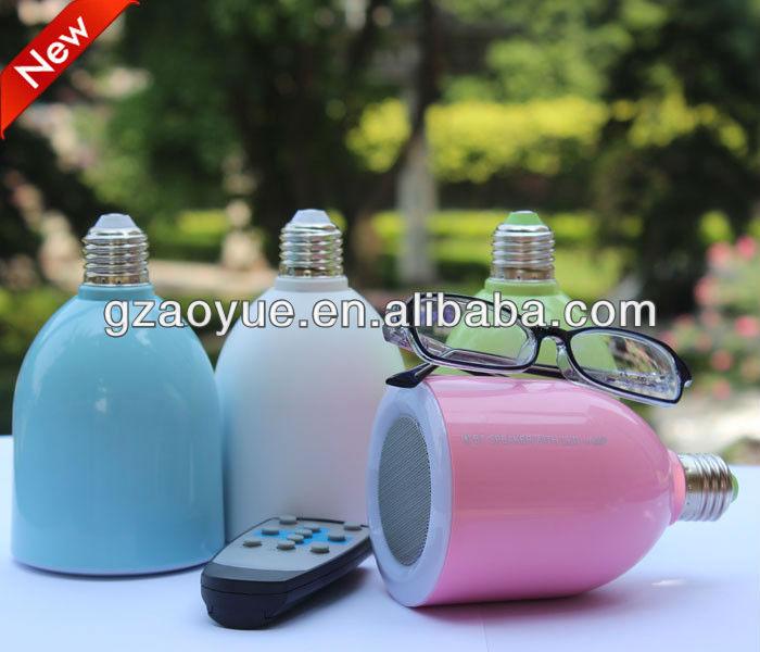 2014 new model LED lamp bluetooth speaker with innovation design