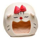 Cute Cozey Soft Luxury Cartoon Lucky Cat Dog Pet Beds House