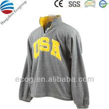 Custom U.S.A designs available promotional crewneck sweatshirt with pockets