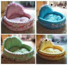 Princess Pet/Dog/Cat Soft Clothing Bed House Cushion 4 Colours