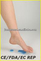 cushion heel shoe padded insoles/silicone insoe