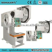 J21S 10 Tons Schuler deep -throat fixed pneumatic mechanical press Highly secure Economic power press Equipment