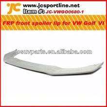 car front lip FRP front spoiler lip Golf VI MK6 FRP front bumper lip for VW Golf VI MK R20
